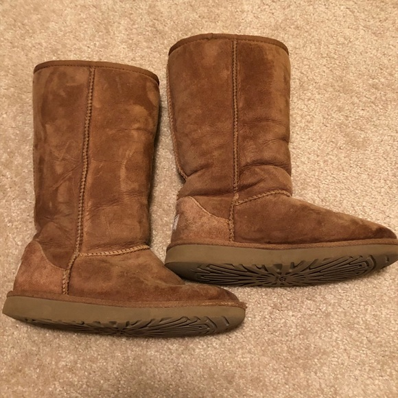 a5f234447d9 Uggs UGG Girls Classic Chestnut Tall Boot Shoes 2